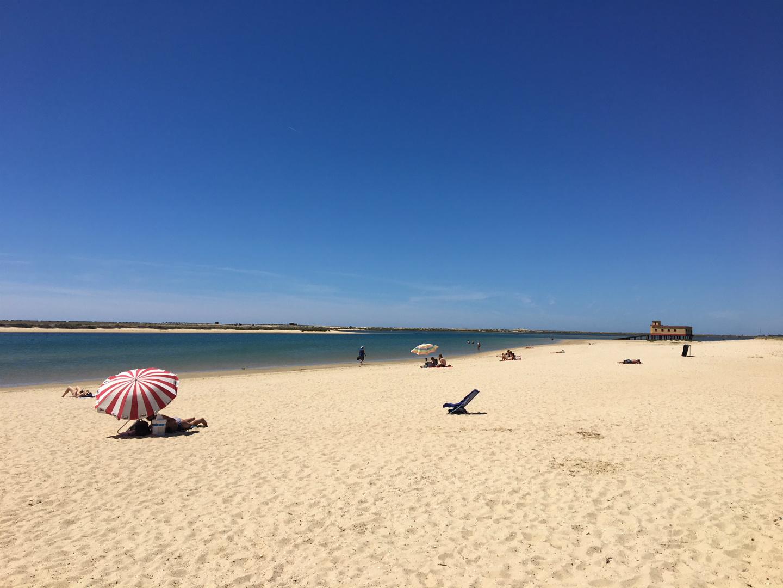 Strand van Fuseta