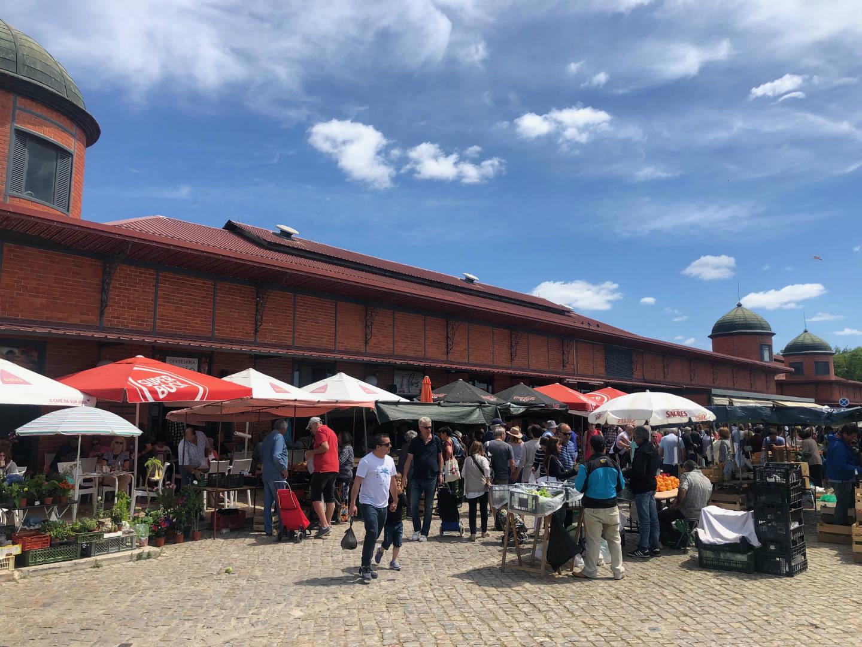 Olhao markt