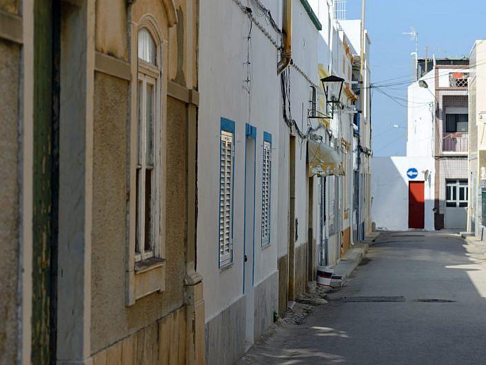 straatje in Fuseta