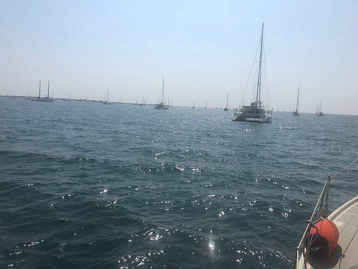 zeilboot Ilha da Culatra
