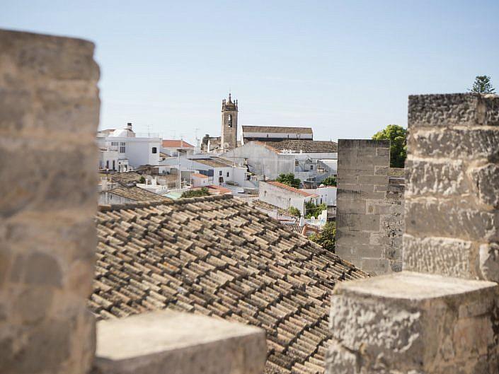 loule uitzicht kasteel