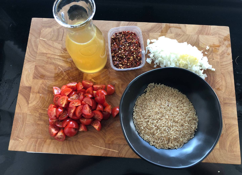 arroz de tomate ingredienten