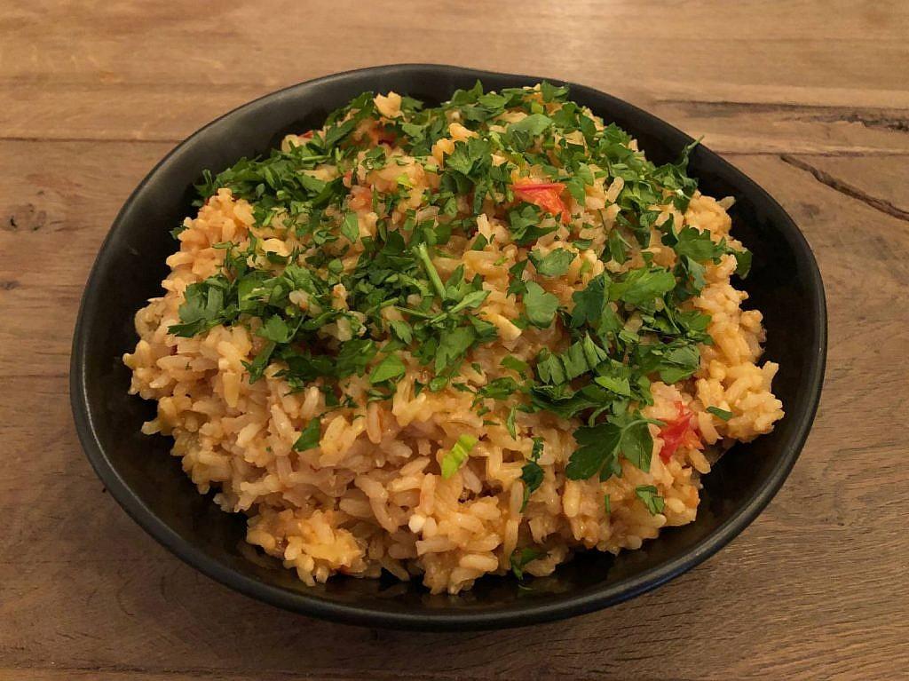arroze de tomate recept