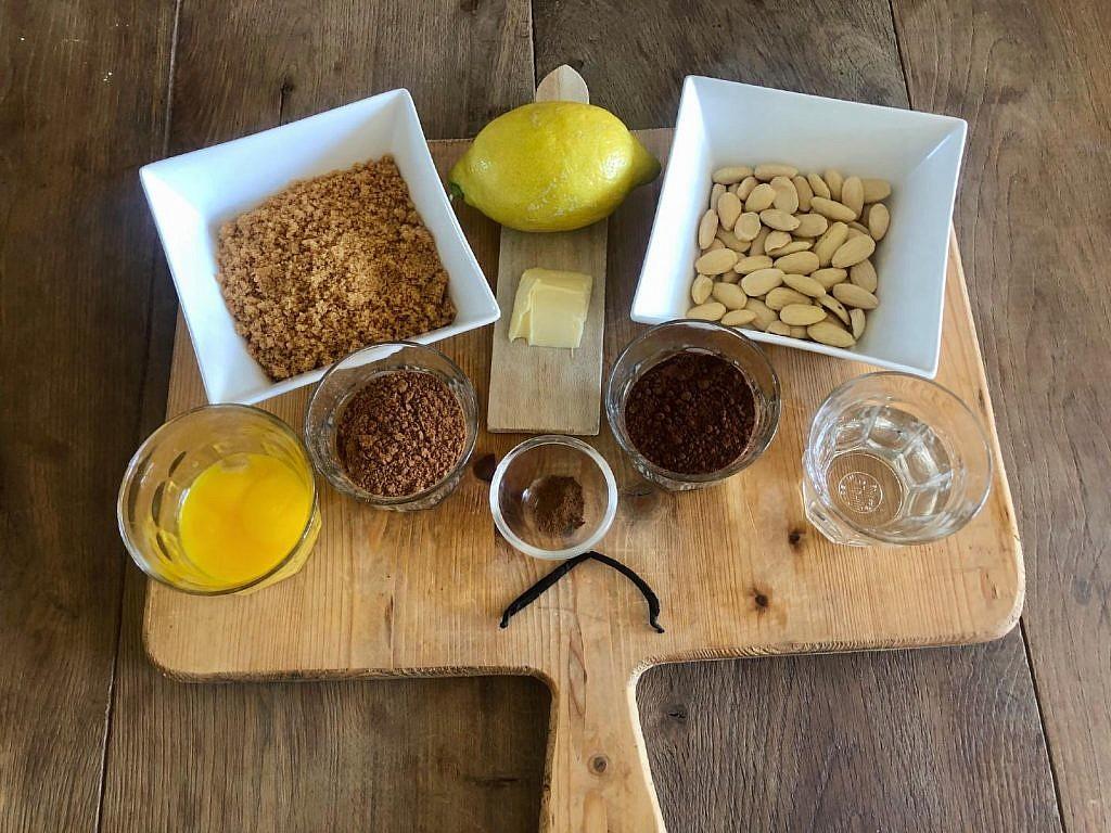 tarte de alfarroba ingredienten vulling