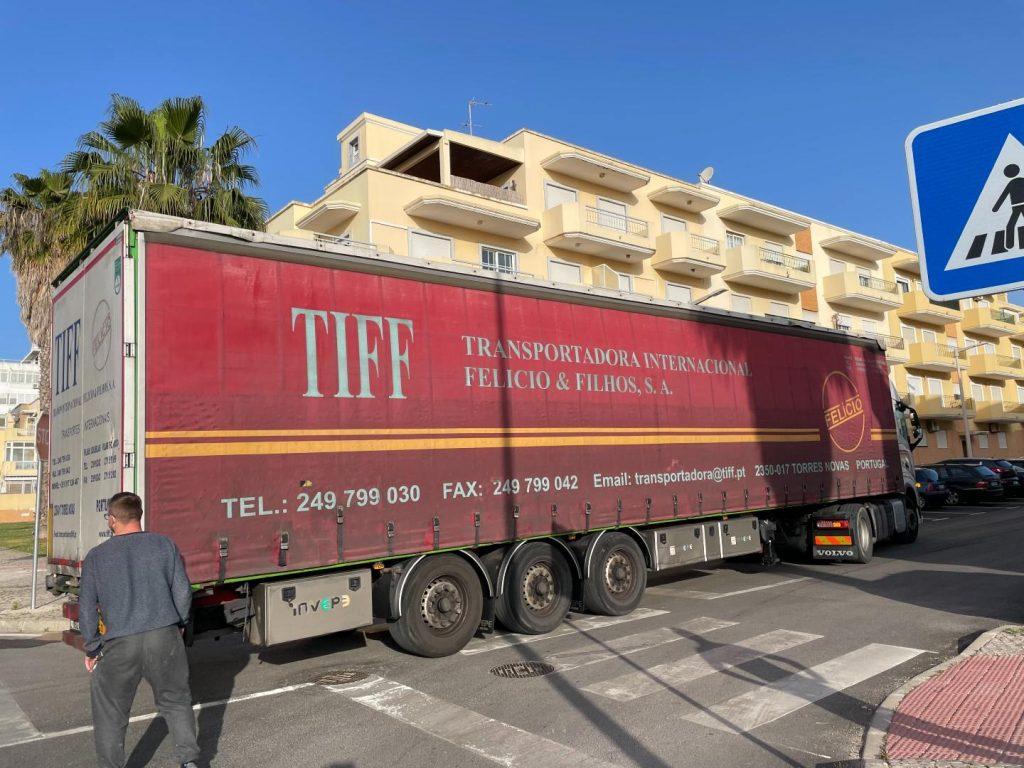 truck in portugal